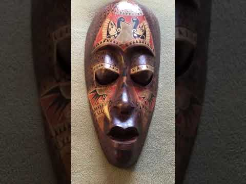 NUBIAN AFRICAN STYLE MASK