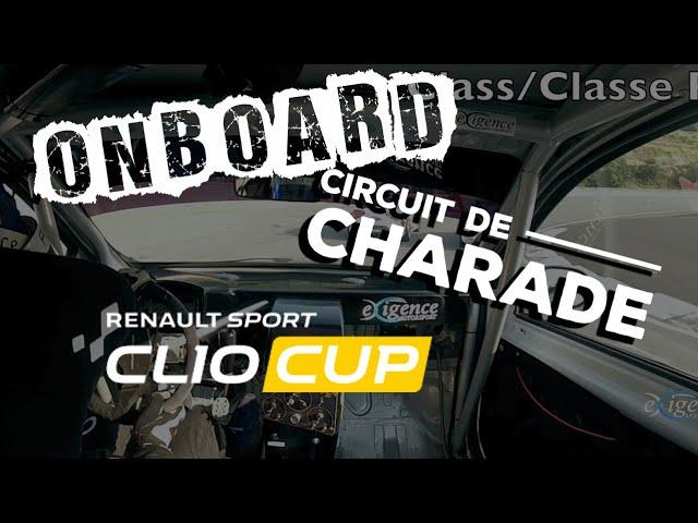 1 tour à Charade en Clio Cup, c'est chaud!