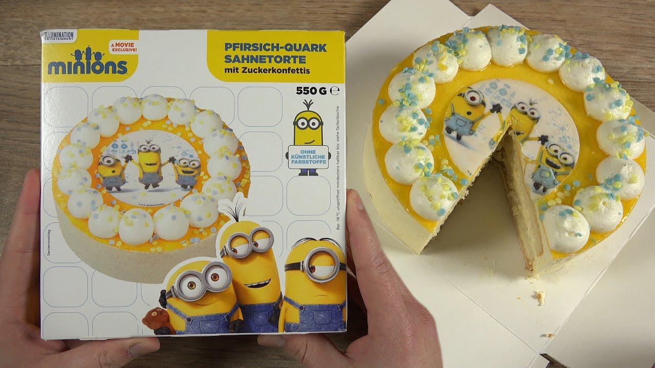 Minions Cake Pfirsich Quark Torte Youtube