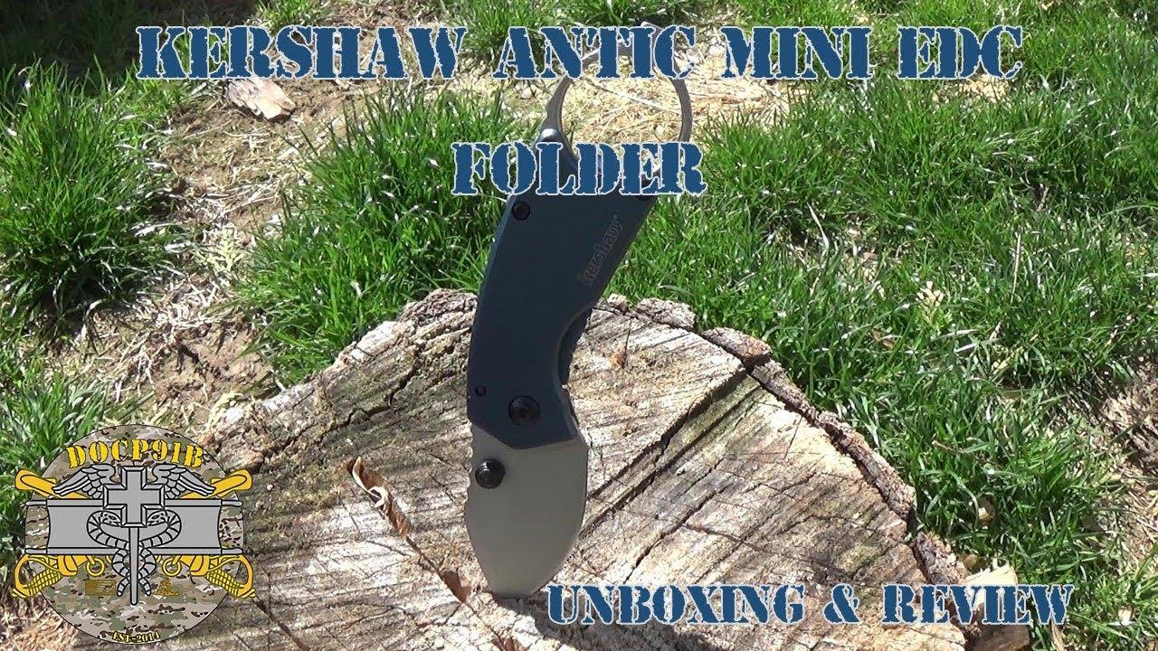 Kershaw Antic Mini EDC Folder - Unboxing & Review
