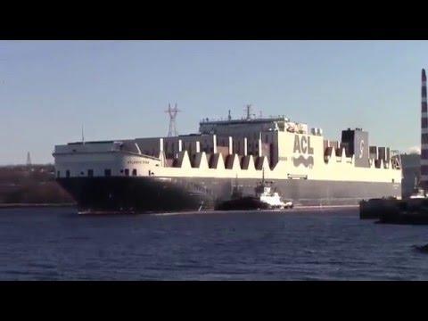 Viaggio inaugurale della Atlantic Star (ACL - Gruppo Grimaldi)  da Liverpool ad Halifax
