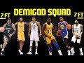 FULL DEMIGOD LINEUP 7 FOOT 3 POINT CHEESE NBA 2K17 MYTEAM ONLINE GAMEPLAY