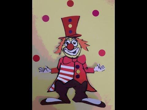 Monsieur clown chanson  pour enfants Eléa Zalé , chanson cirque
