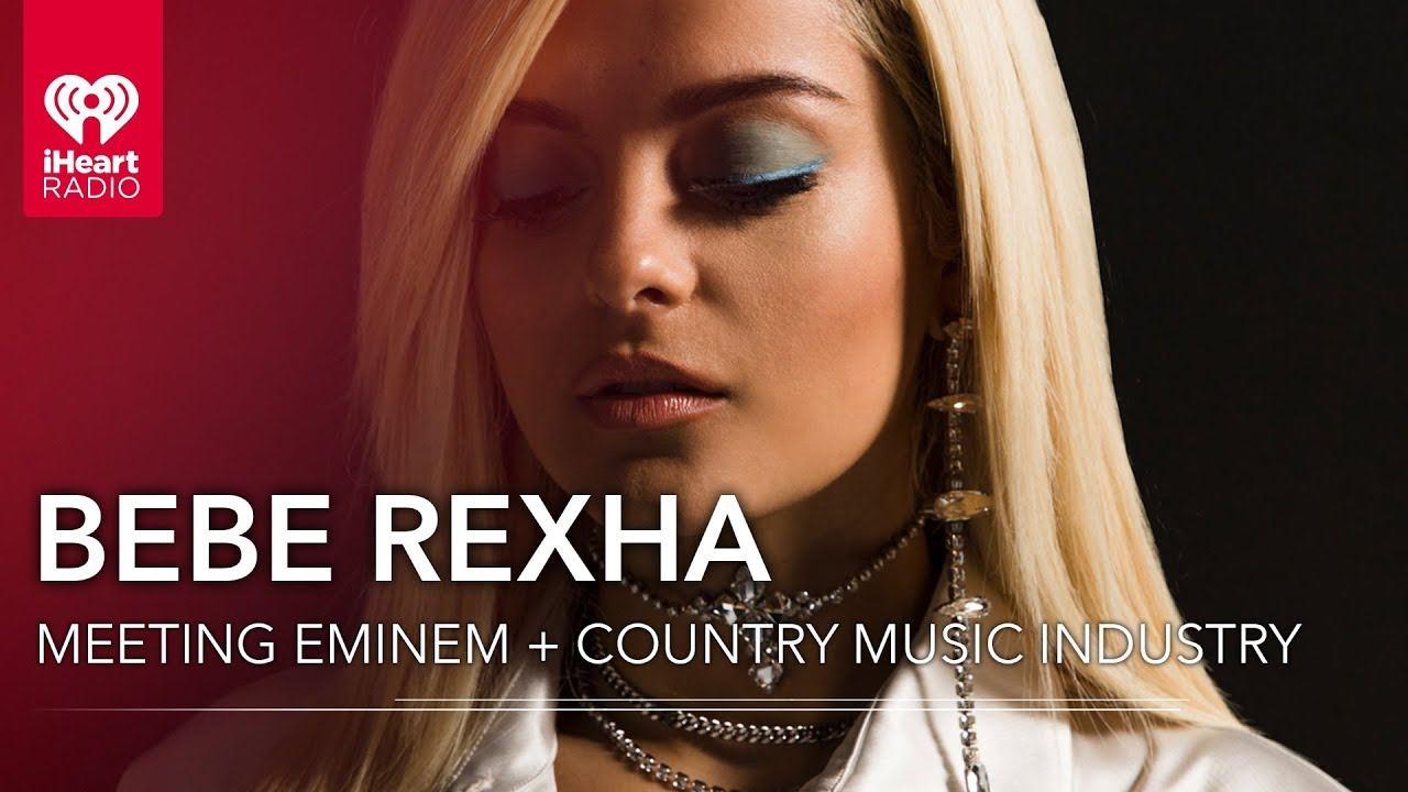 Bebe rexha talks meeting eminem for first time country music bebe rexha talks meeting eminem for first time country music industry exclusive interview m4hsunfo