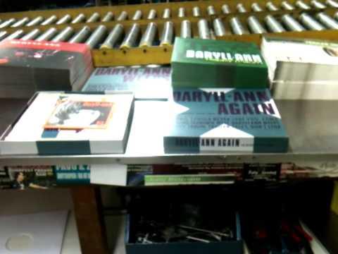 Finishing the Daryll-Ann Again vinyl box set at Record Industry Haarlem