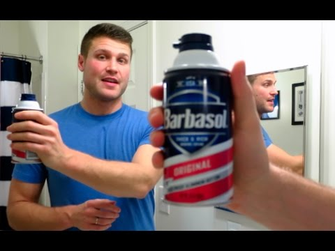 Barbasol Shaving Cream and Edge Shave Gel!