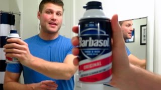 Barbasol Shaving Cream and Edge Shave Gel!