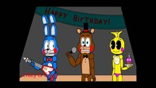 Five Nights At Freddy s 2 animation TOO LATE Crazy Is Crazy