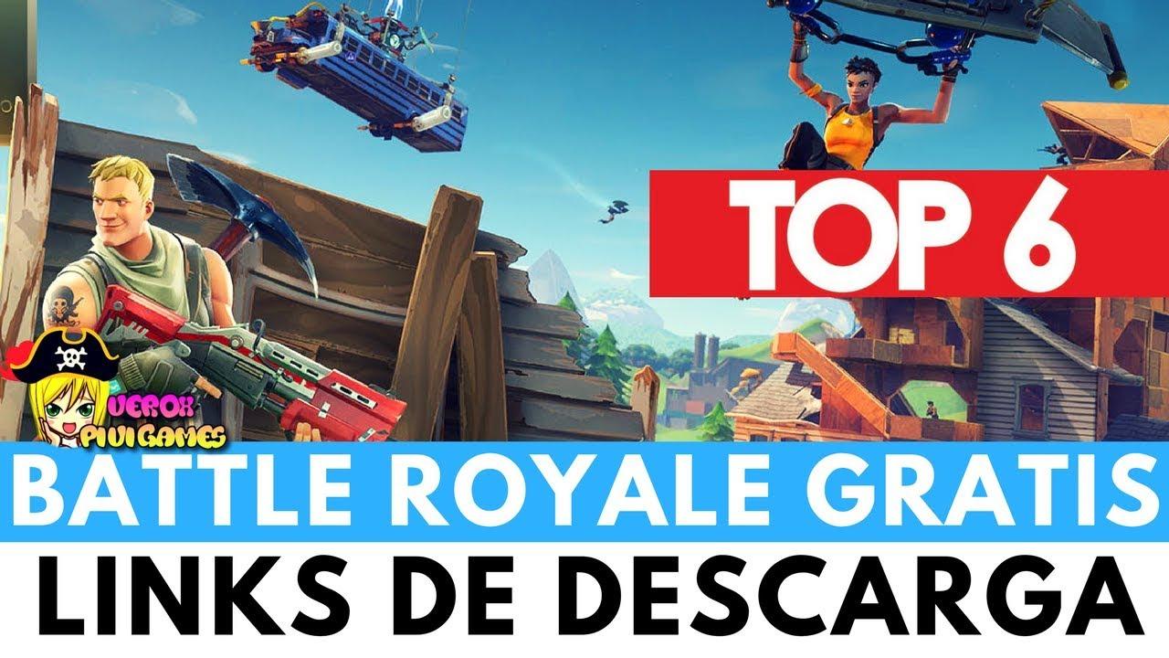 Top 6 Juegos Battle Royale Para Pc Gratuitos Parecidos Al Pubg