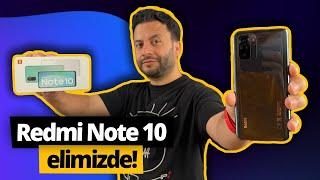 Türkiye'de ilk! Redmi Note 10 elimizde! Uygun fiyatın iddialı telefonu