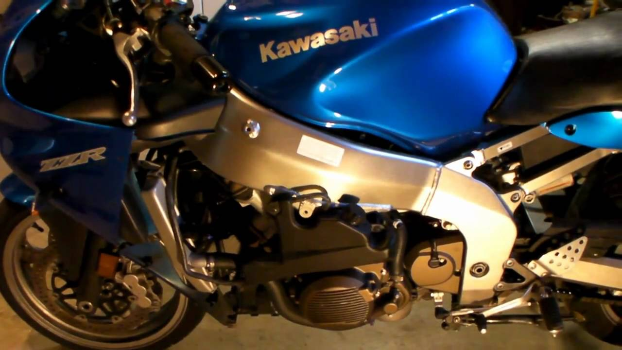 hight resolution of replacing the neutral safety switch on a motorcycle kawasaki zzr600 youtube