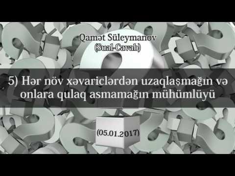 Batil (hizbi) yollar haqq (sələfi) yoldan ayrılıb - (Sual-Cavab; 05.01.2017)