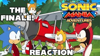 Can't Forget Mania Adventures' Finale! - Sonic Mania Adventures Part 5 (Reaction)