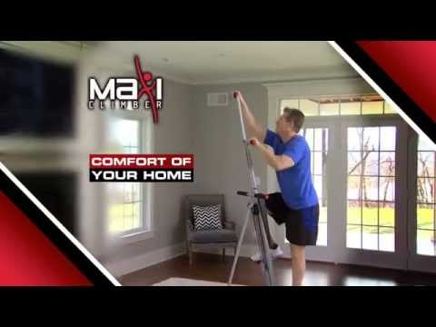 The Best Exercise Machine‎ - Maxi Climber Vertical Climber AS SEEN ON TV