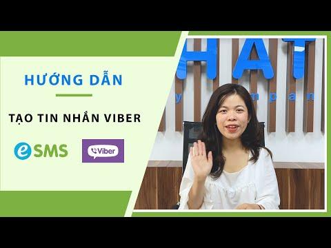 [Hướng dẫn] - Tạo Tin Nhắn Viber Trên eSMS.vn - Dịch Vụ SMS Marketing eSMS