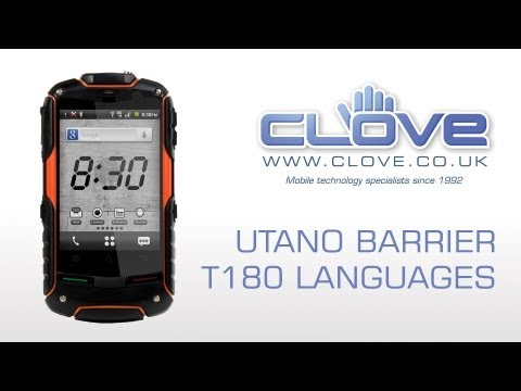Utano Barrier T180 Languages