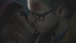 Ashley and Chris Kiss Scene Until Dawn