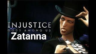 Injustice Gods Among Us - Modo História: Zatanna - Playthrough (Pc Gameplay PT-BR)