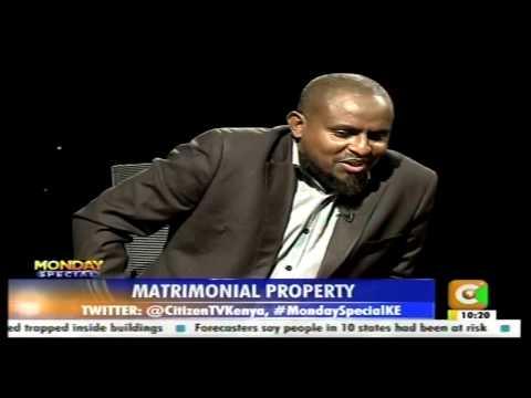 Monday Special: Matrimonial Property Part 1
