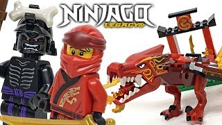 LEGO Ninjago Legacy Kai's Fire Dragon review! 2020 set 71701!