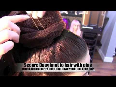 Audrey Hepburn Hairstyle 3 Minute Tutorial