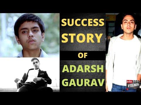 Adarsh Gaurav success story   Motivational video   Virendra Rathore   Filmy Funday   Join Films