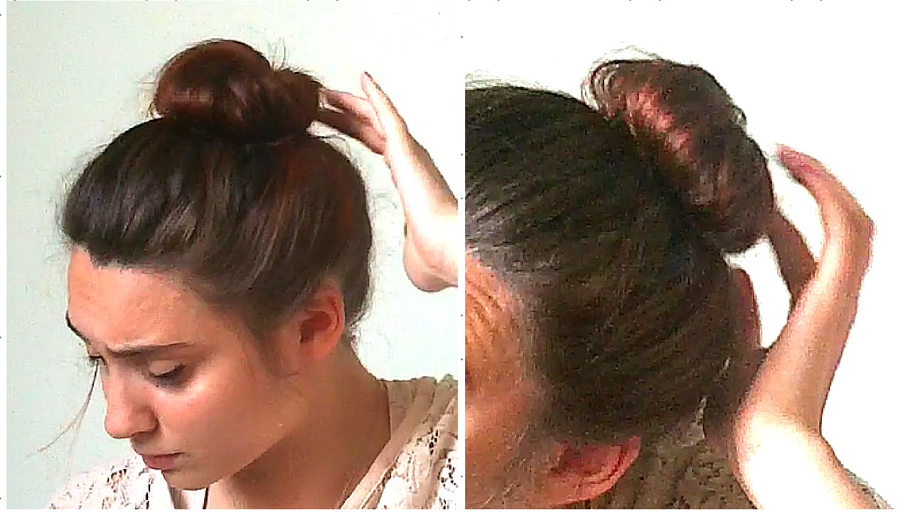 Come si fa lo chignon per capelli corti