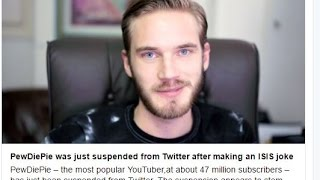 PEWDIEPIE GOT BANNED ON TWITTER!!!!!