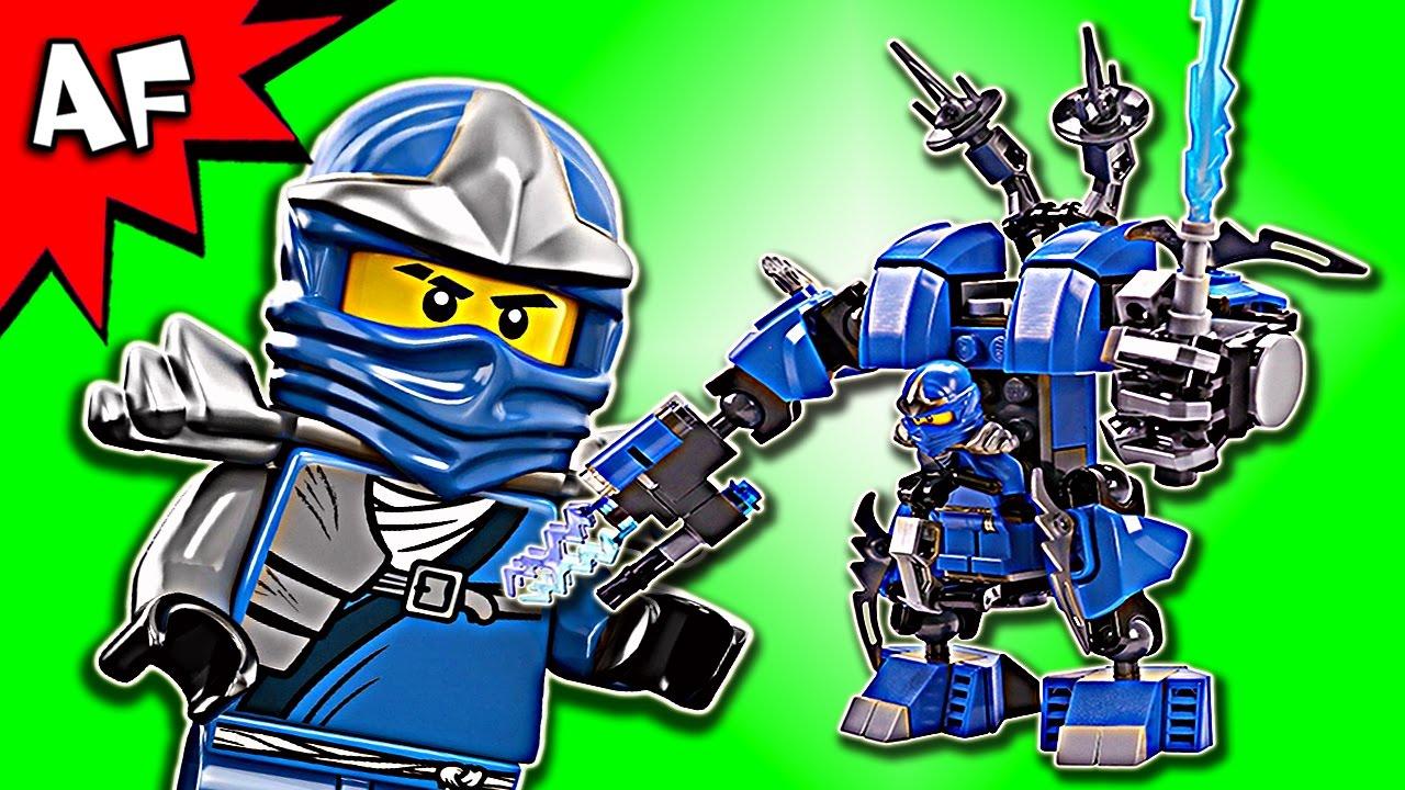 Custom Lego Ninjago Jay's LIGHTNING MECH MOC Speed Build ...