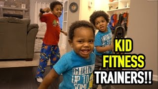 KID FITNESS TRAINERS!!