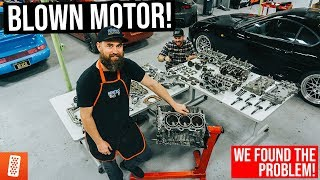Tearing Down the MR2's Blown V6 Engine! (2GR-FE)