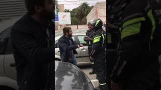 Video: Abogado que denunció a Chuli Jorge fue interceptado por un control municipal. Mirá lo que pasó