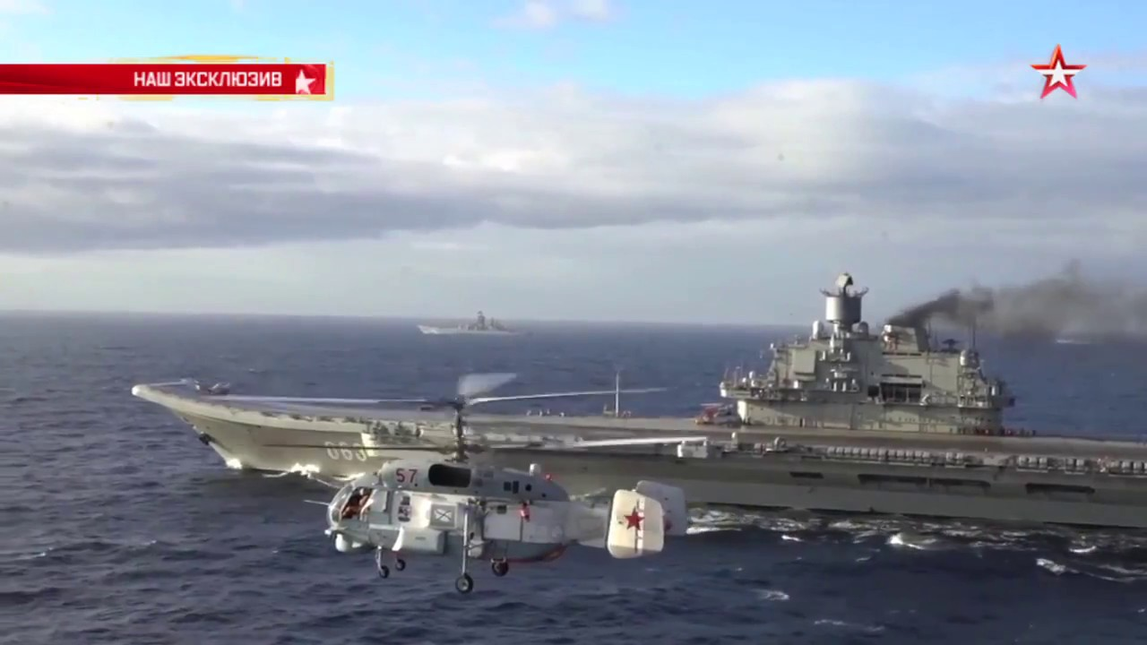 Takeoff and Landing on Russia39s Admiral Kuznetsov aircraft