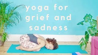 Video Yoga for grief and sadness // Yoga with Dionne // 20 minute practice download MP3, 3GP, MP4, WEBM, AVI, FLV Maret 2018