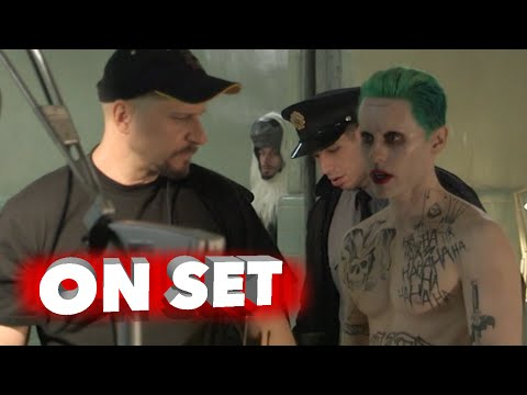 "Suicide Squad: Behind the Scenes Movie Broll of Jared Leto ""The Joker"""