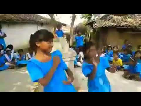 "Children promoting ""Right to Education"" with a song"