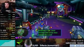 Sly Cooper trifecta speedrun in 13:07:48
