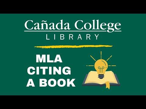 MLA 8 Book Citation