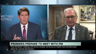 First ministers' meeting on federal funding for health care