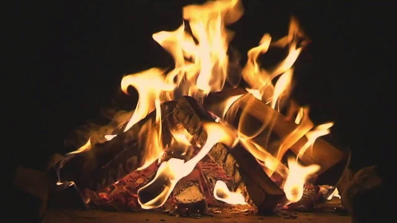 Natures Fireplace Video Campfire Ambience Youtube