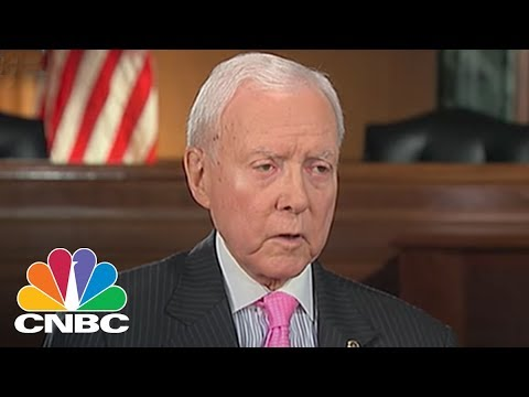 Sen. Orrin Hatch Talks Tax Reform Efforts (Full Interview)   CNBC