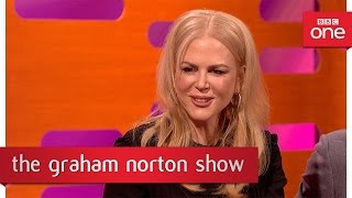 Nicole Kidman was a teen magazine cover star - The Graham Norton Show 2016 – BBC One