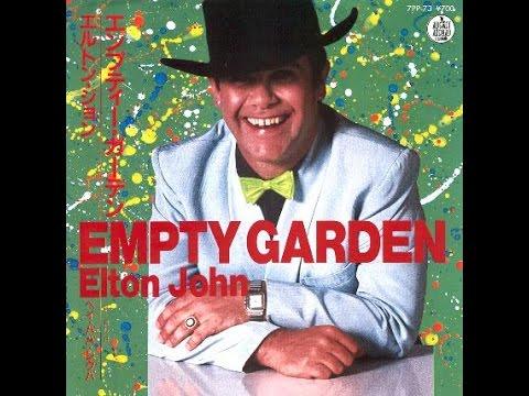 Elton John 39 S Tribute To John Lennon Empty Garden Hey Hey Johnny 1982 With Lyrics Youtube