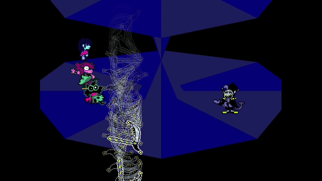 How to find and be able to fight Jevil in Deltarune