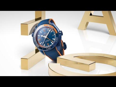"OMEGA Seamaster Planet Ocean GMT ""Big Blue"" - Baselworld 2017"
