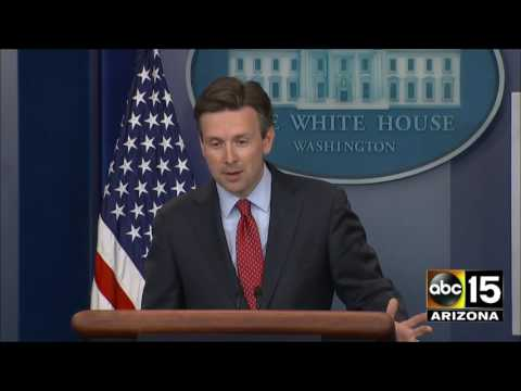 Josh Earnest is sick of answering the media's questions about the $400 million payment to Iran