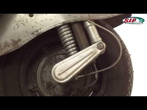 SIP Performance shockabsorber for VESPA Vintage - Tutorial