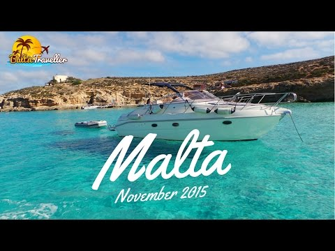 Trip to Malta in November 2015 | Best Places filmed | HD