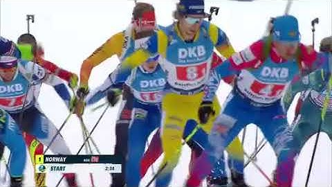 """Biathlon - """" Staffel Herren """" - Ruhpolding 2020 / """" Relay Men """""""