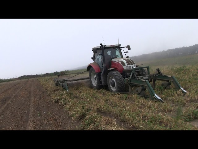 Steyr Profi 6140 + Pickett Equipment One Step Rode